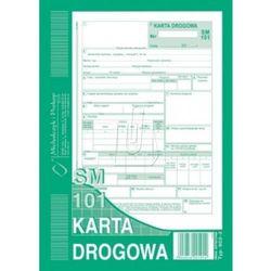 Karta drogowa A5 SM-101 numerowana 802-3N