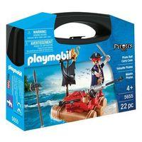 Klocki dla dzieci, Playmobil PIRACI Walizka - piraci 5655 - BEZPŁATNY ODBIÓR: WROCŁAW!