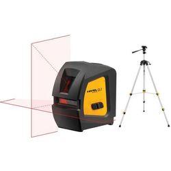Laser krzyżowy Nivel System CL1 poziomica + Statyw SJJ-M1 EX