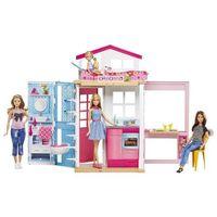 Domki dla lalek, Mattel Barbie domek dla lalek 2 w 1 - BEZPŁATNY ODBIÓR: WROCŁAW!