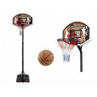 Koszykówka, Zestaw do koszykówki HUDORA CHICAGO - kosz obręcz tablica stojak piłka