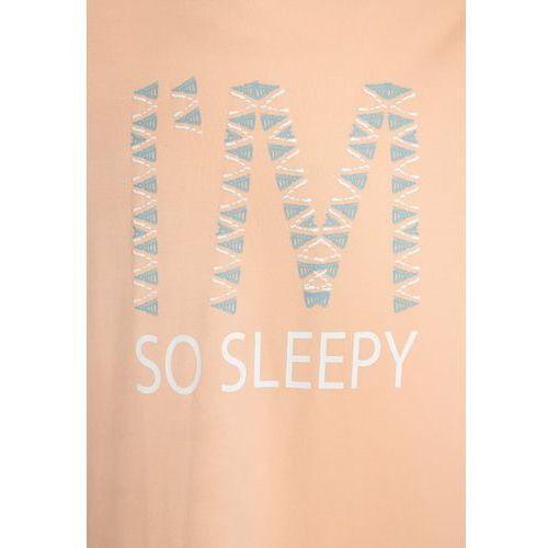 Piżamy dziecięce, Skiny ETHNIC PARADISE SLEEP GIRLS Koszula nocna peach fuzz