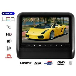 NVOX DV9917HD BL Monitor na zagłówek samochodowy LCD 9