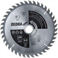 Tarcze do cięcia, Tarcza do cięcia DEDRA H31580 315 x 30 mm do drewna + Zamów z DOSTAWĄ JUTRO!