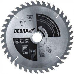 Tarcza do cięcia DEDRA H31580 315 x 30 mm do drewna + Zamów z DOSTAWĄ JUTRO!