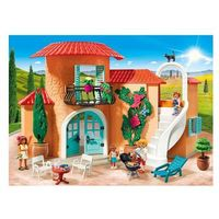 Klocki dla dzieci, Playmobil FAMILY FUN Słoneczna willa wakacyjna 9420