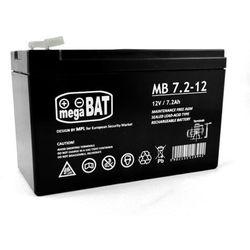 Akumulator AGM żelowy MB 7,2-12 F1 (12V 7,2Ah)