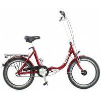 Pozostałe rowery, ALUMINIOWY ROWER SKŁADANY SKŁADAK NISKA RAMA MIFA BIRIA 3-BIEGI SHIMANO, NIEBIESKI
