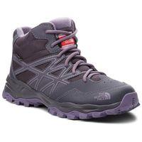 Trekking, Trekkingi THE NORTH FACE - Hedgehog Hiker Mid Wp NF00CJ8Q5SS Periscope Grey/Purple Sage