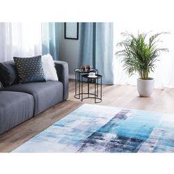 Dywan niebieski 140 x 200 cm krótkowłosy TRABZON