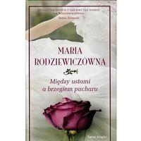 Literatura kobieca, obyczajowa, romanse, MIĘDZY USTAMI A BRZEGIEM PUCHARU. TW / WYD 2013 (opr. twarda)