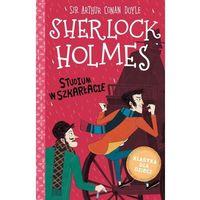 Literatura młodzieżowa, Sherlock holmes t.1 studium w szakrłacie - arthur conan doyle (opr. twarda)