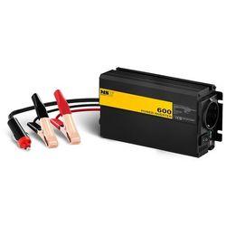 Przetwornica samochodowa - 600 1200W - adapter do gniazda zapalniczki