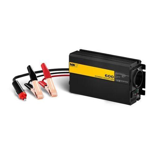 Przetwornice samochodowe, Przetwornica samochodowa - 600 1200W - adapter do gniazda zapalniczki