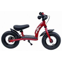 """Rowerek biegowy 10"""" NISKI od 2 lat BIKESTAR GERMANY classic kolor czerwony"""