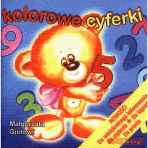 Książki dla dzieci, Kolorowe cyferki (opr. miękka)