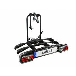 Bagażnik na rowery EUFAB AMBER 3 uchwyt na hak