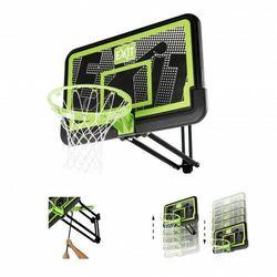EXIT GALAXY zestaw stacjonarny do koszykówki kosz z regulowaną tablicą naścienny