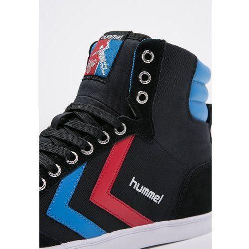 Obuwie sportowe dla kobiet, Hummel SLIMMER STADIL Tenisówki i Trampki wysokie black/blue/red