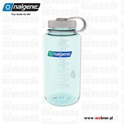 Butelka Nalgene 1,1l – Wide Mouth, otwór 63mm, jasnozielona 2178-2053