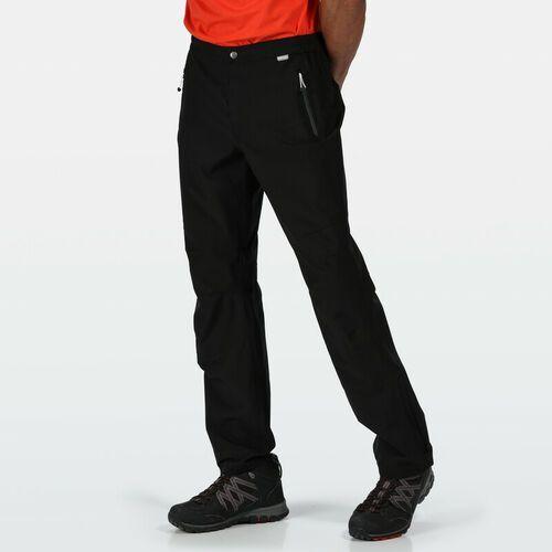 Spodnie męskie, Regatta Highton Spodnie wierzchnie Mężczyźni, black M (Regular) 2020 Spodnie przeciwdeszczowe