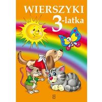 Książki dla dzieci, Wierszyki 3-latka (opr. twarda)