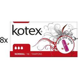 Kotex normal Tampony – 128 szt - BEZPŁATNY ODBIÓR: WROCŁAW!