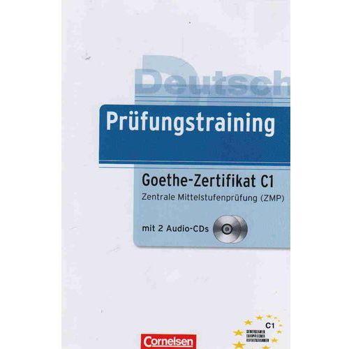 Książki do nauki języka, Prufungstraining Goethe-Zertifikat C1 + Cd (opr. miękka)