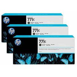 HP oryginalny ink B6Y31A, No.771C, matte black, 3szt, HP Designjet Z6200