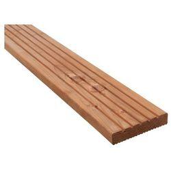 Deska tarasowa drewniana Blooma 2400 x 120 x 24 mm świerk naturalny