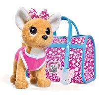 Pluszaki zwierzątka, ChiChi Love ChiChi Love piesek chihuahua Star z torbą