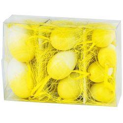 Jajka wielkanocne 9 szt., żółty, HTH