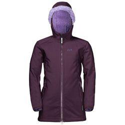Płaszcz dla dziewczynki KISSEKAT COAT GIRLS aubergine - 92