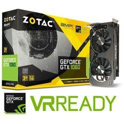 Karta graficzna Zotac GeForce GTX 1060 AMP 3GB GDDR5 (192 Bit) HDMI, DVI, 3xDP, BOX (ZT-P10610E-10M) Szybka dostawa! Darmowy odbiór w 21 miastach!