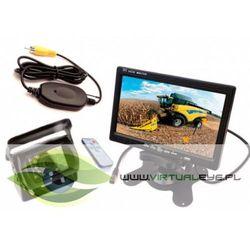 Bezprzewodowy Zestaw Kamera cofania + Monitor