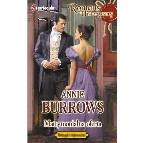 E-booki, Matrymonialna oferta - Annie Burrows