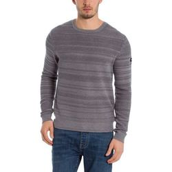 kurtka BENCH - C-Neck Structured Light Grey Marl Winter (MA1052) rozmiar: M