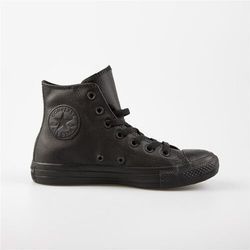 buty CONVERSE - Chuck Taylor All Star Leather Black (BLACK) rozmiar: 35