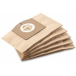 Papierowe torebki filtracyjne (5 szt.) do WD 1 (Karcher 2.863-297.0), POLSKA DYSTRYBUCJA!