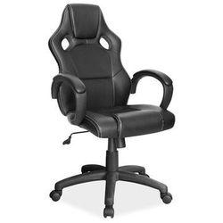 Fotel gamingowy Signal Q-103 - fotel dla gracza - czarny - DOSTAWA GRATIS