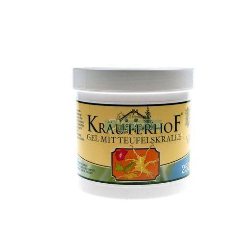 Żele i maści przeciwbólowe, Żel z Diabelskim pazurem Krauterhof 250 ml