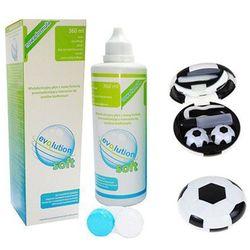 evO2lution soft 360 ml + zestaw podróżny piłka