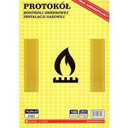 Protokół kontroli okresowej stanu technicznego instalacji gazowej [Pu/Pb-57]
