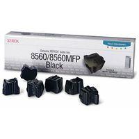 Tusze do drukarek, Wyprzedaż Oryginał Kostki barwiące Xerox 108R00727 do Xerox ColorQube 8560 | 6 800 str. | czarny black, pudełko otwarte