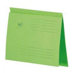 Skoroszyt zawieszany A4, zielony, 50 szt.