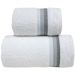 Ręcznik bawełniany Greno Ombre Biały