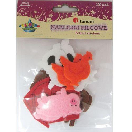 Kreatywne dla dzieci, Dekoracja filcowa z klejem. Zwierzęta domowe. 338600. - Titanum
