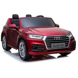 Duże dwuosobowe auto audi q5 xxl mp4 czerwony lakier metalik mp4