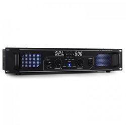 Skytec SPL500 DJ PA domowy wzmacniacz 500W LED Equalizer