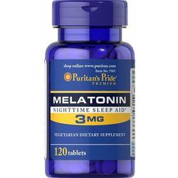 Melatonina 3mg 120 tabletek Puritan's Pride